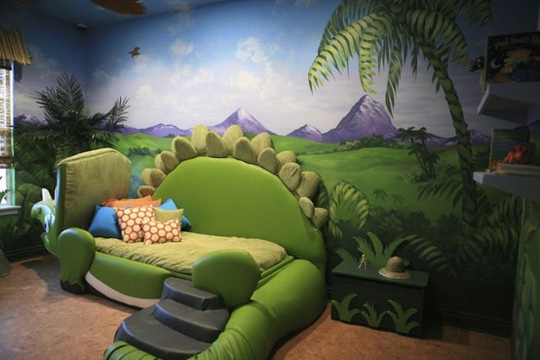 Habitaci n tem tica dinosaurios habitaciones tematicas - Habitaciones infantiles tematicas ...