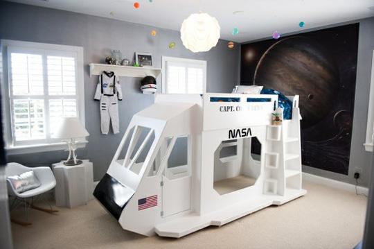 Una nave espacial en tu habitación