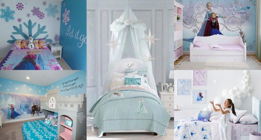 Habitaciones infantiles de Frozen