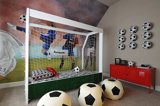 Habitación infantil Fútbol