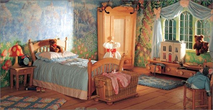 Decorar habitaci n infantil hadas habitaciones tematicas for Disenador virtual de habitaciones