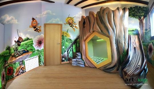Dormitorio infantil Abeja Maya