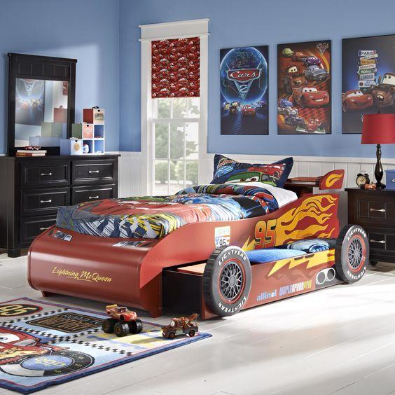 Dormitorio tem tico cars habitaciones tematicas - Dormitorios de cars ...
