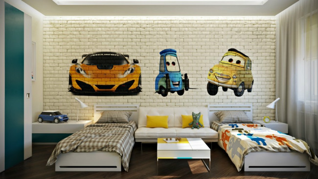 Habitaciones infantiles Cars