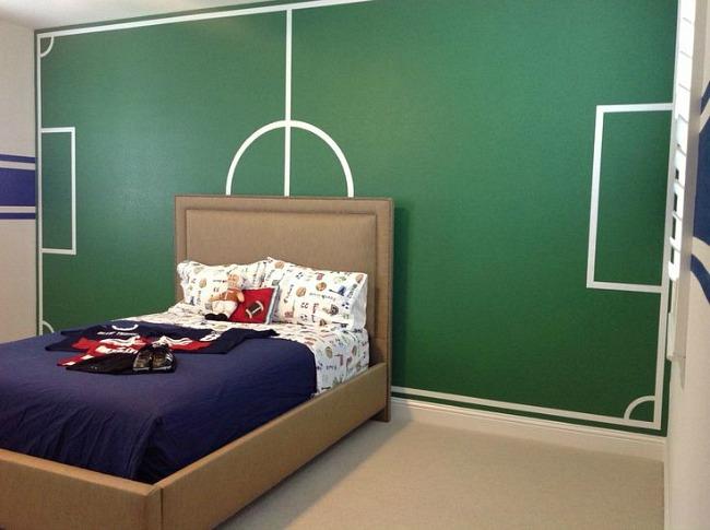 6 Habitaciones infantiles de Fútbol