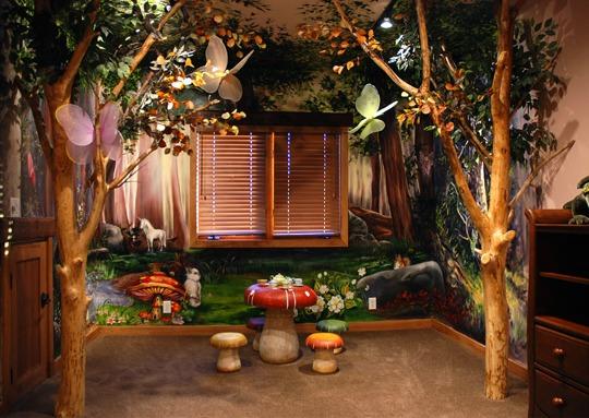 Inspiraci n hadas del bosque habitaciones tematicas for Habitacion que utiliza un conserje