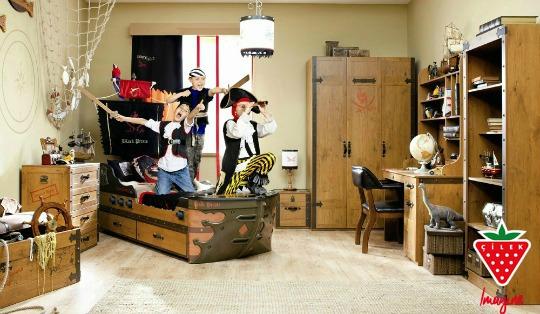 Black Pirate, el dormitorio más aventurero de Cilek