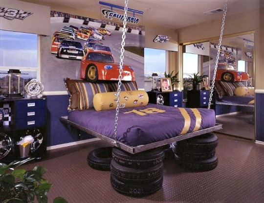 habitacion-juvenil-coches-1