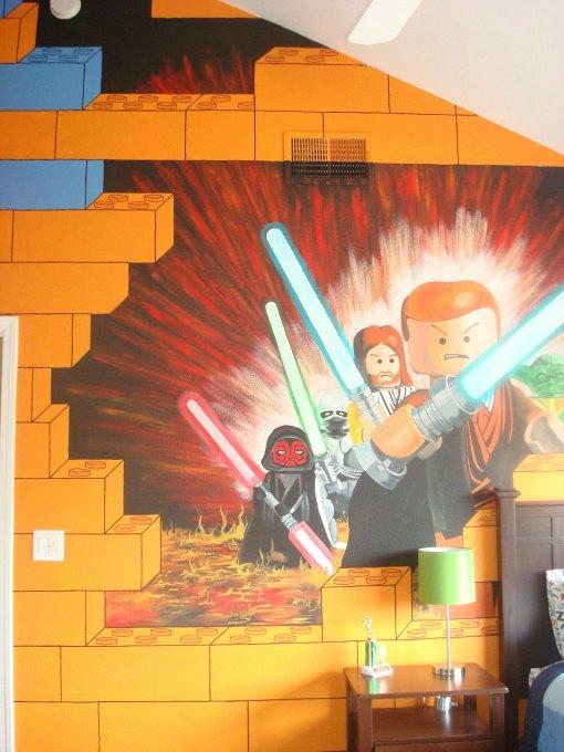 Habitación infantil Lego