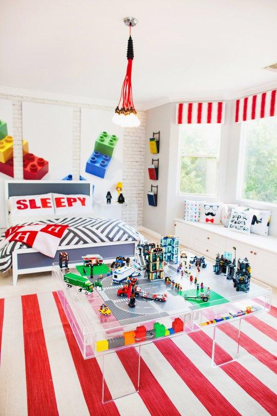 Habitación juvenil Lego