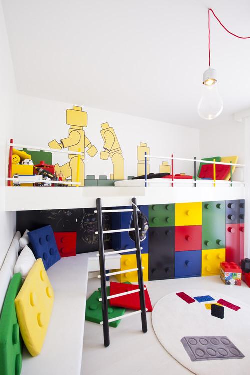 Decoración infantil temática Lego