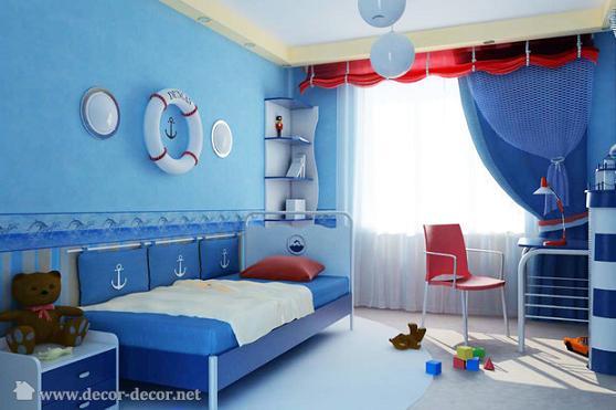 Habitaciones para ni os habitaciones tematicas - Habitaciones infantiles marineras ...