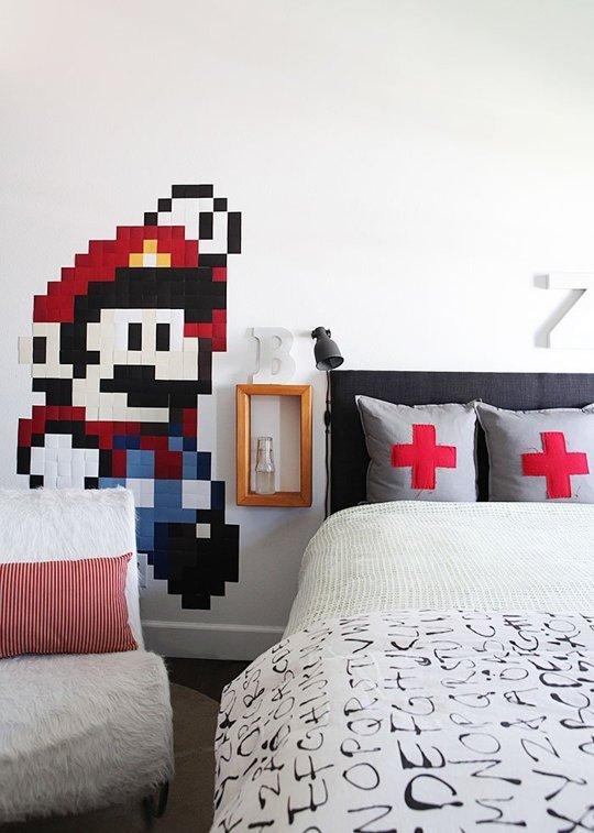 Super Mario Bros inspiración