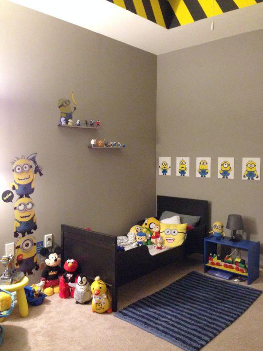 Habitaciones tem ticas minions inspiraci n habitaciones - Habitaciones infantiles tematicas ...