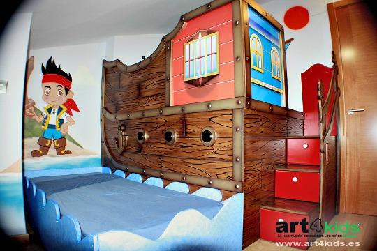 Habitaci n infantil pirata de art4kids habitaciones - Ver habitaciones infantiles ...