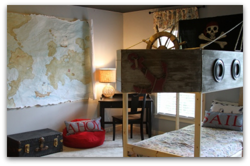 Habitaci 243 N Infantil Barco Pirata Habitaciones Tematicas