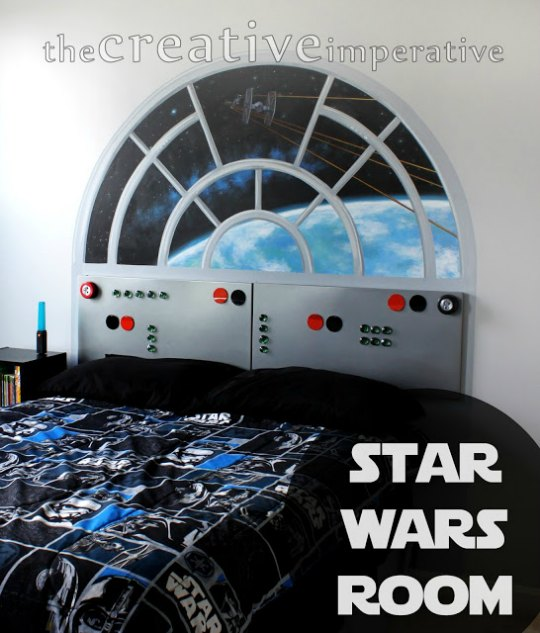 Dormitorio Star Wars inspiración
