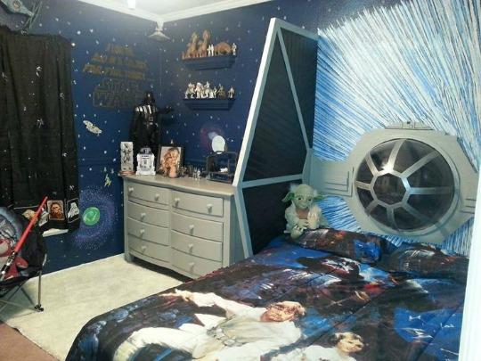 6 Habitaciones infantiles Star Wars