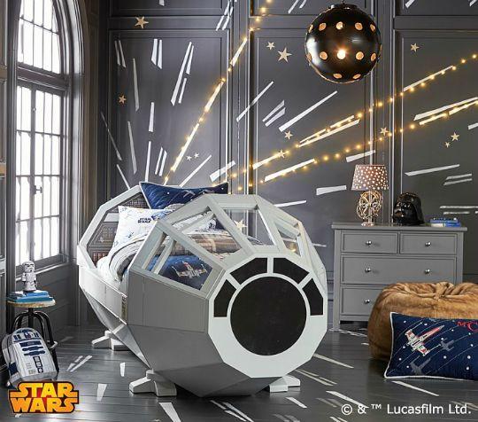 Habitación infantil Star Wars