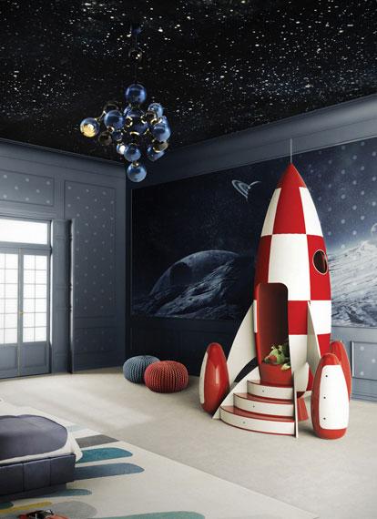 4 Habitaciones infantiles espaciales