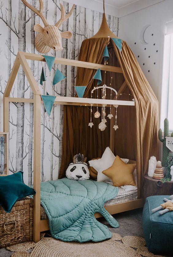 Habitaciones infantiles con casitas