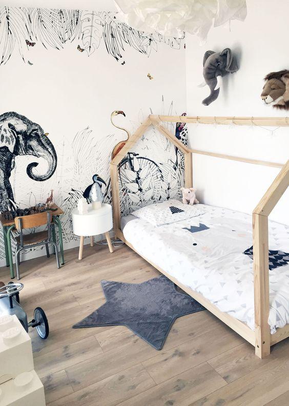 Habitaciones infantiles Jungla