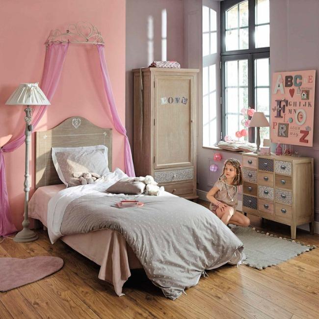habitaciones juveniles de princesas habitaciones tematicas. Black Bedroom Furniture Sets. Home Design Ideas