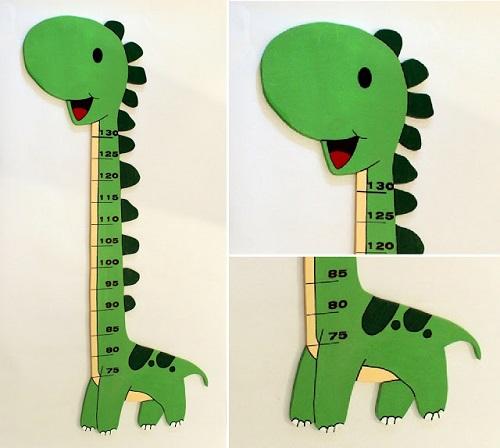 Medidor infantil Dinosaurio