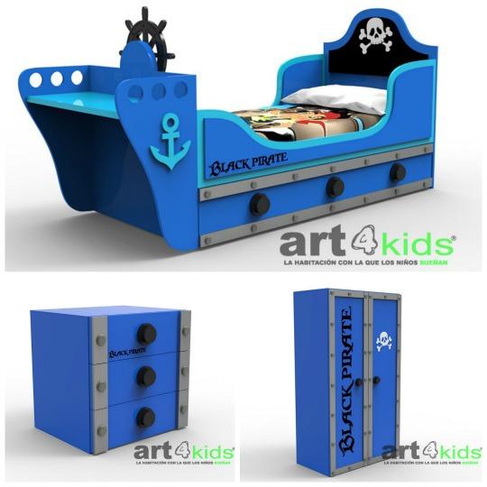 Nueva línea de muebles Piratas de Art4Kids
