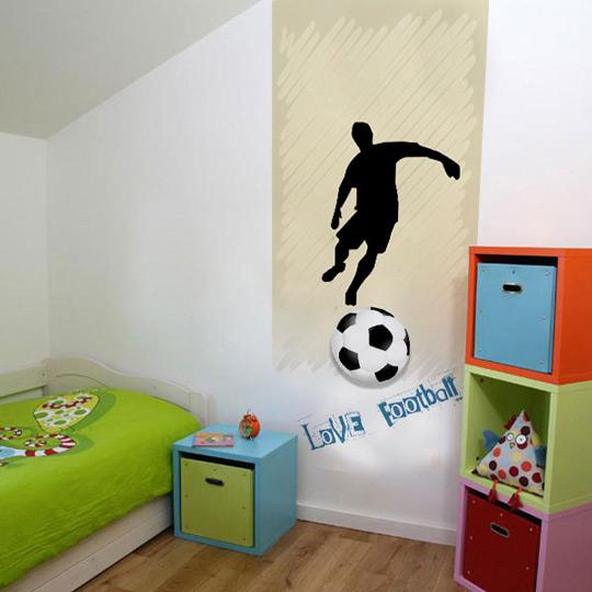 Murales de f tbol para ni os habitaciones tematicas - Nombres para habitaciones infantiles ...