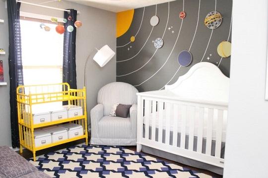 Mural planetas DIY