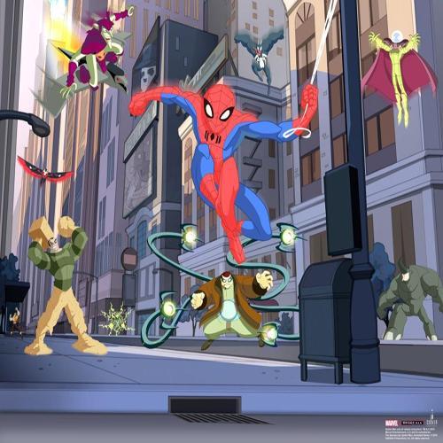 Mural Spiderman online