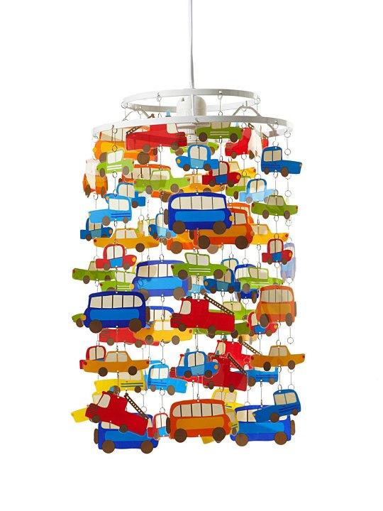 Pantalla de lámpara coches