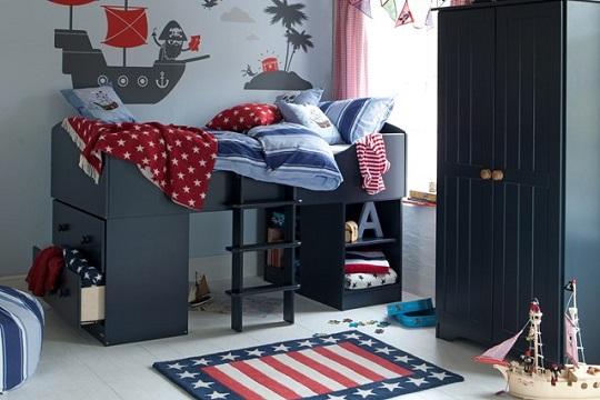 Dormitorio Pirata para descansar y jugar