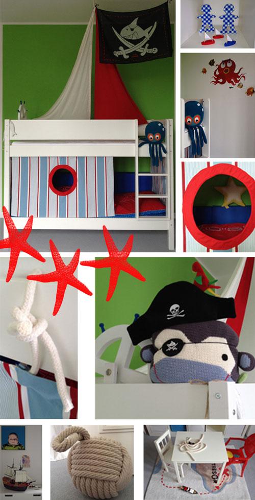 Inspiración decoración Pirata