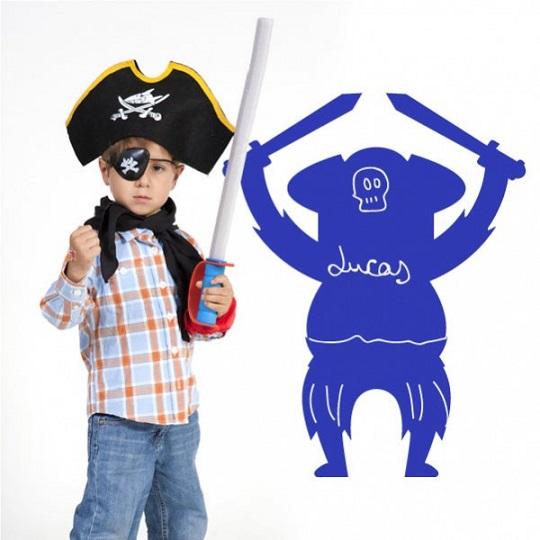 Pizarras adhesivas Piratas