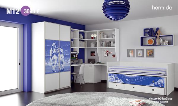 Habitaci n infantil real madrid habitaciones tematicas - Habitaciones infantiles barcelona ...