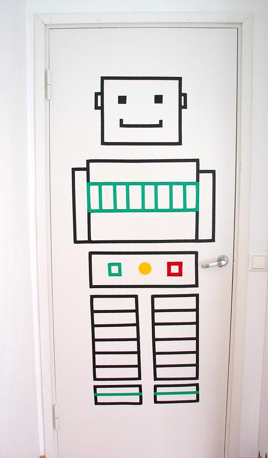 Robot de washi tape