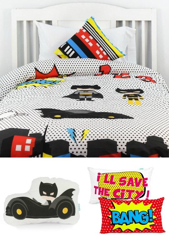 Ropa de cama Superhéroes | Habitaciones Tematicas