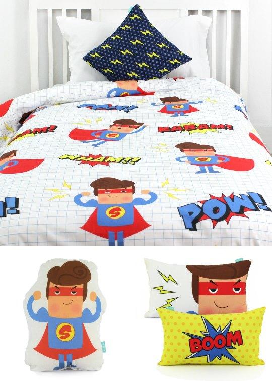 Ropa de cama Superhéroes