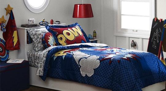 Habitaciones Decoradas Para Bebes #2: Superheroes-7.jpg