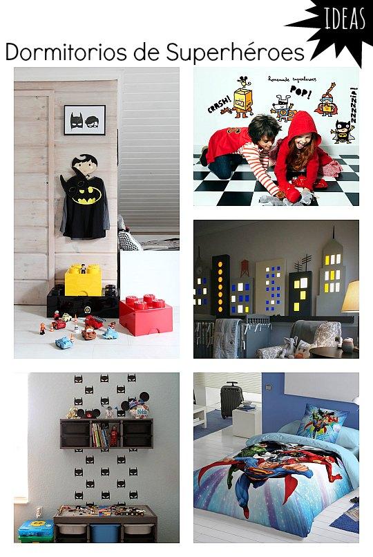 Inspiración para el dormitorio de un Superhéroe