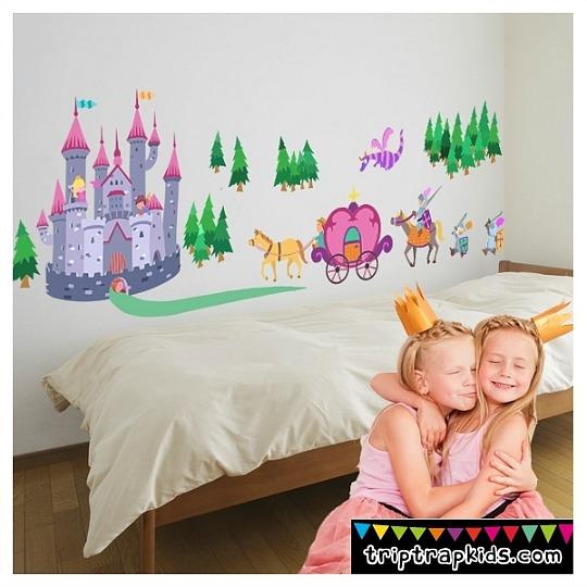 Castillo Medieval, el vinilo de las pequeñas princesas