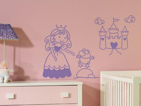 Vinilo La Princesa del Castillo