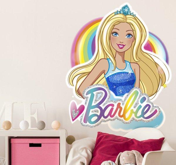 Vinilos infantiles Barbie